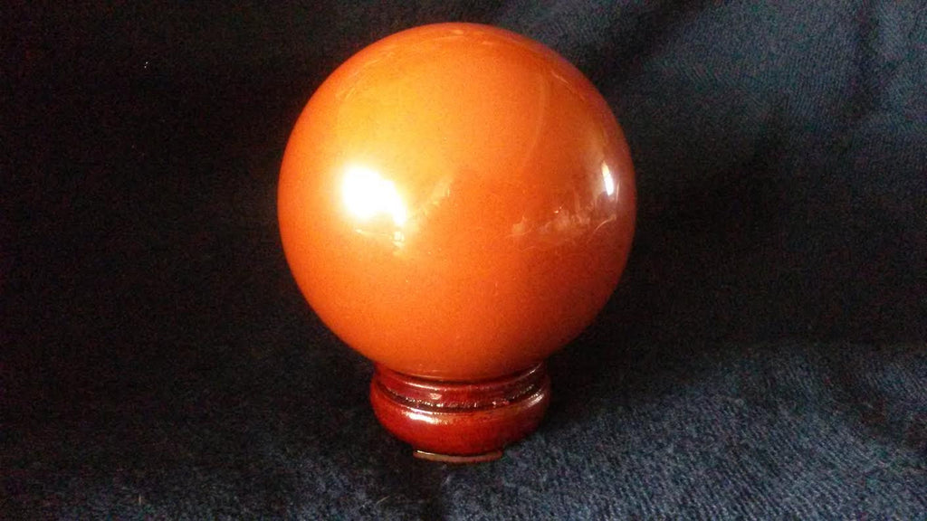 Natural Red Jasper Crystal Sphere