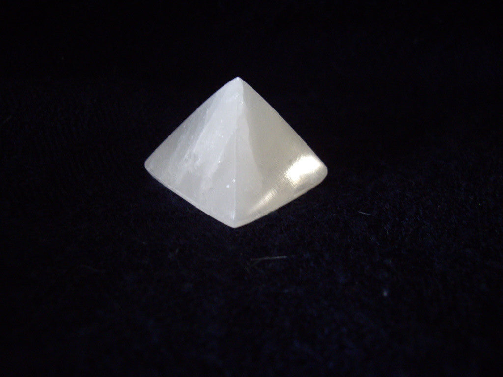 Selenite Crystal Pyramid