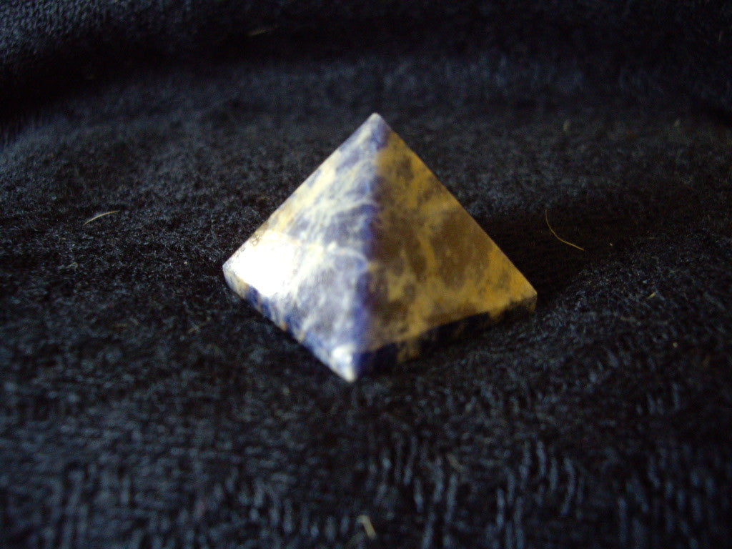 Natural Sodalite Pyramid