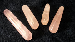 Rose Quartz Crystal Subtle Point Massage Wand