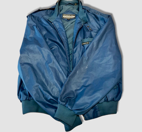 Blue Members Only Jacket Size M