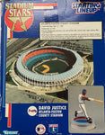 1995 David Justice Atlanta Fulton County Stadium Collectors Statue