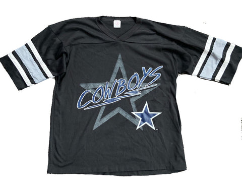 Dallas Cowboys Quarter Sleeve Tee Size L/XL