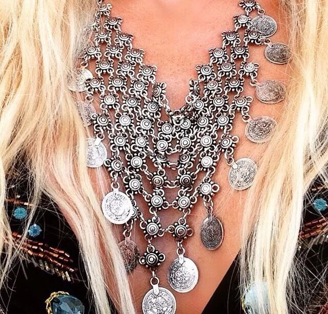 Bohemian Goddess Vintage Necklace