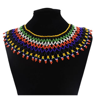 Royalty Tribal handmade Necklace
