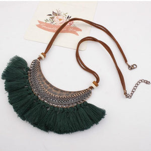 Summer Bohemian Glamour necklace