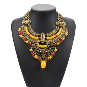 Hot Bohemian Ethnic Gypsy Collar Necklace