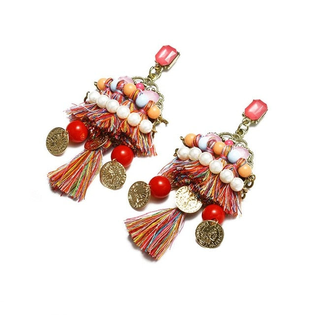 Vintage Boho Earrings - Bohemian Jewelry | goddessshe.com