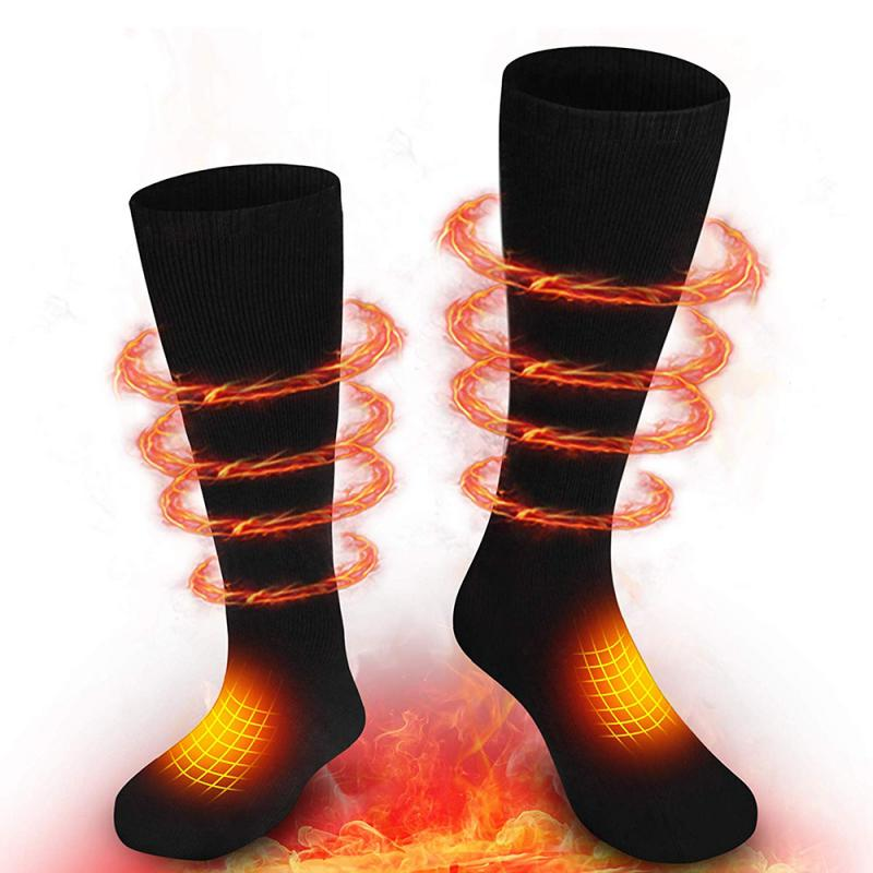 Electric Rechargeable Battery Warm Winter Socks,Cold Weather Thermal Heating Socks Foot Warmers for Hunting Skiing Camping