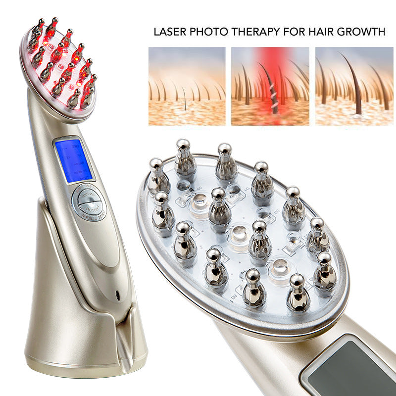 Anti Hair Loss Laser Stimulating Scalp Repair Brush | goddessshe.com