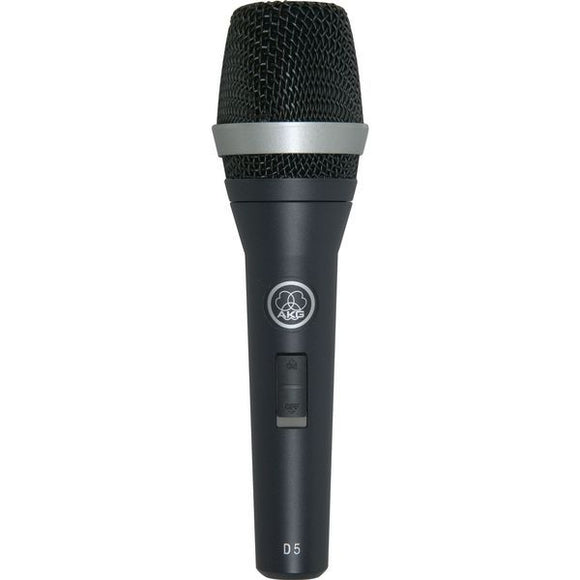 DYNAMIC S.CARDIOID VOCAL MIC W-SWITCH