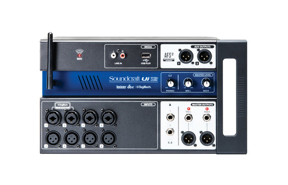 Ui12 Input Digital Mixer W-router