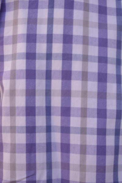 Southern Tiger-Princeton Button Down Lavender/Denim