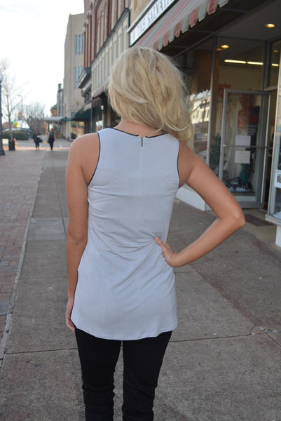 """Outlined In Style"" Top"