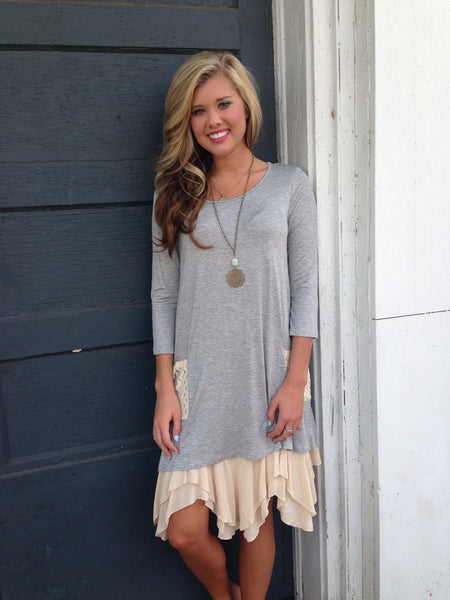 """What You Say About Lace"" Tunic"