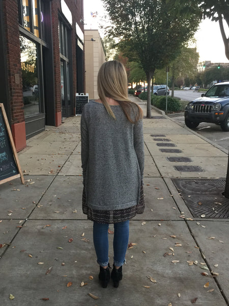 Shades of Grey Tunic