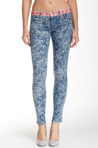"MOTHER ""The Looker"" Print Skinny Jean - Size 27"