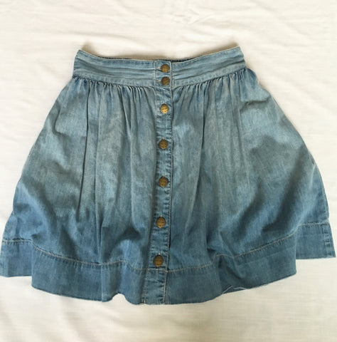 Current Elliott Denim Mini with Buttons Size 2