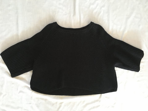 Free People Knit Cropped Sweater Size S