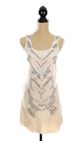 Madison Marcus Beaded Dress - Size Small