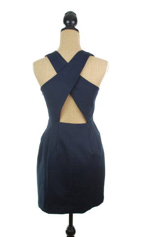 Club Monaco French Navy Dress - Size 2 *NWT*
