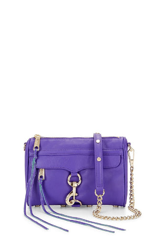 Rebecca Minkoff Mini M.A.C. Crossbody Bag - Purple