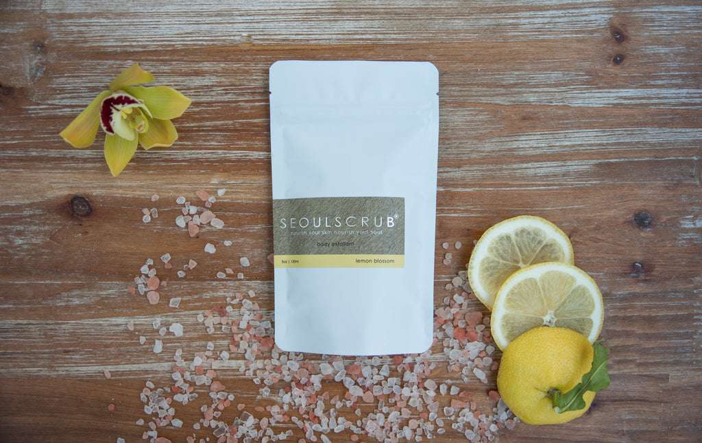 Himalayan Salt Body Scrub - Lemon Blossom