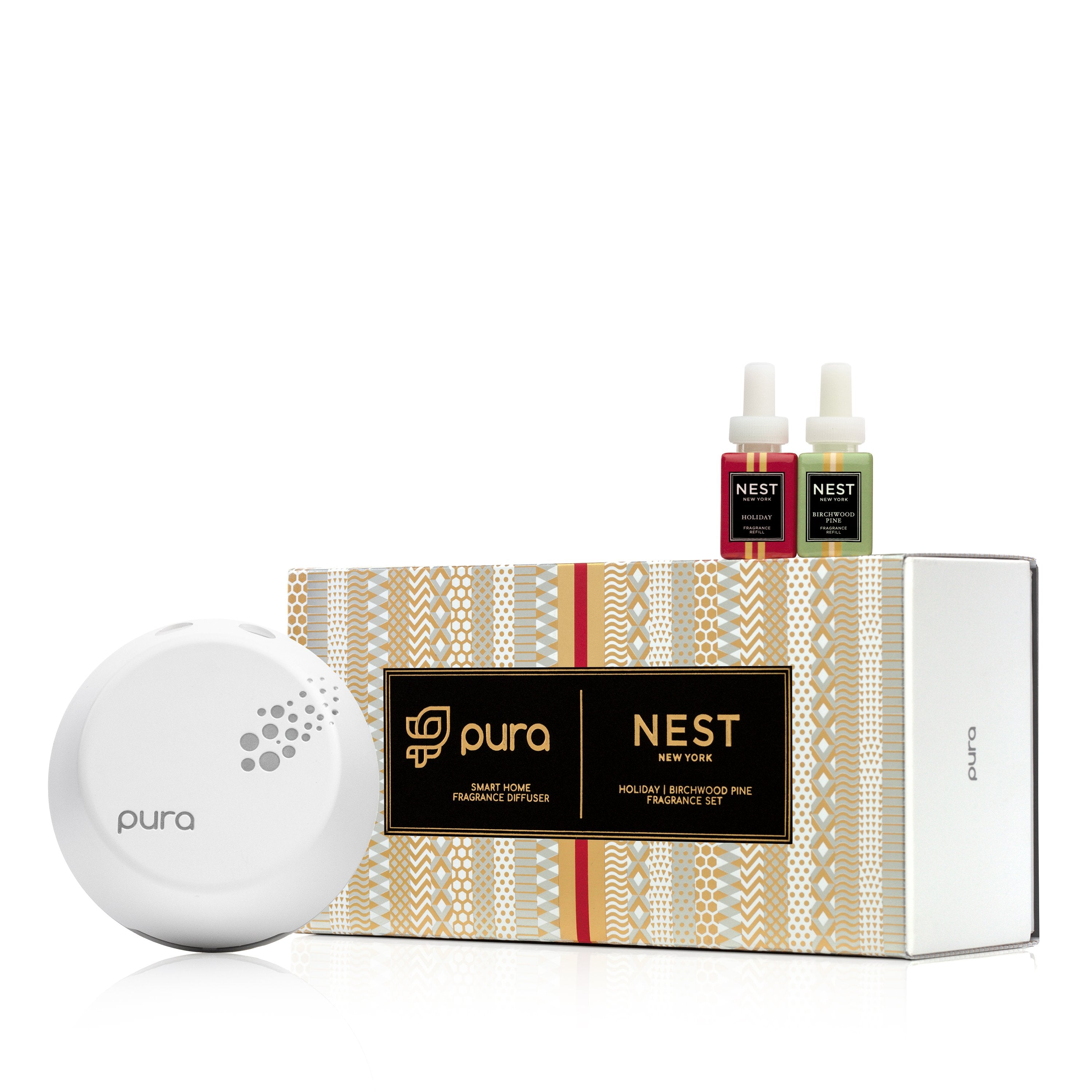 Festive Pura Smart Home Fragrance Diffuser Starter Set