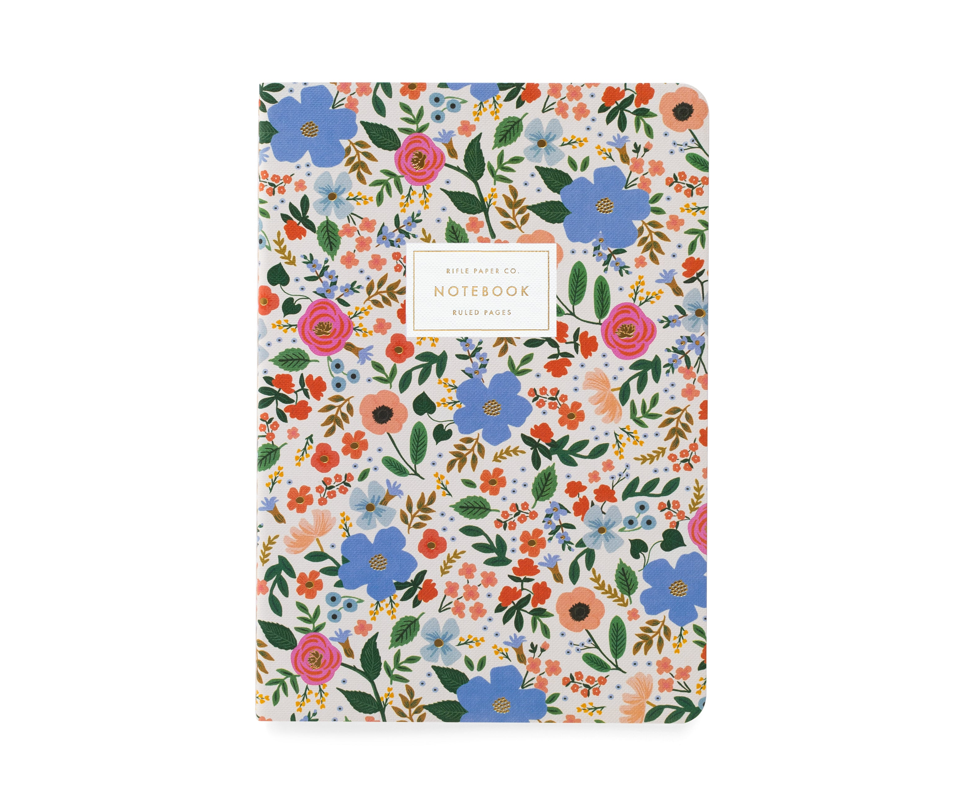 Stitched Notebook Set, Wild Rose