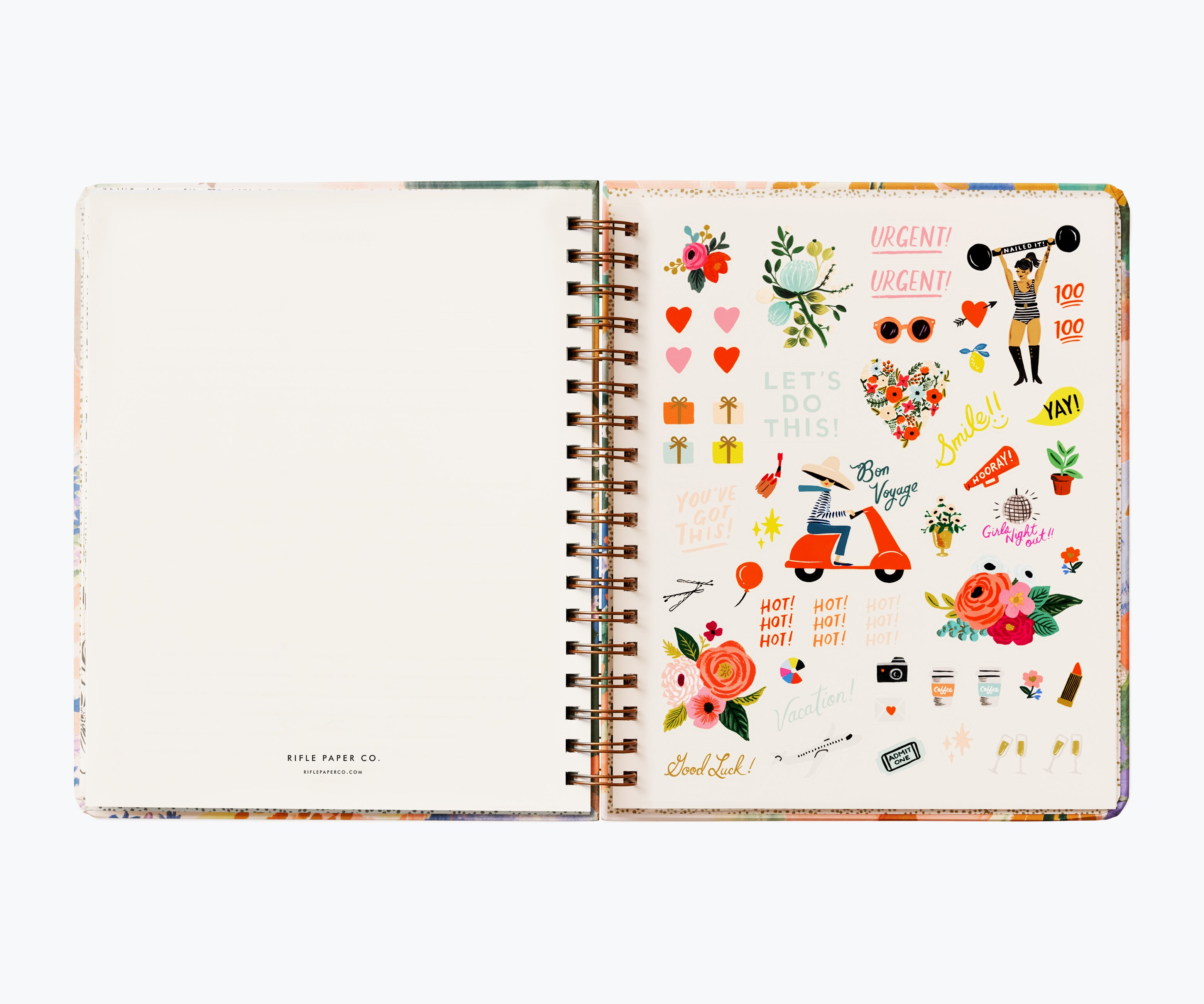 2021 17-Month Large Planner, Luisa