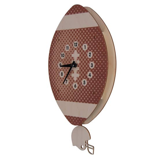 Football Pendulum Clock