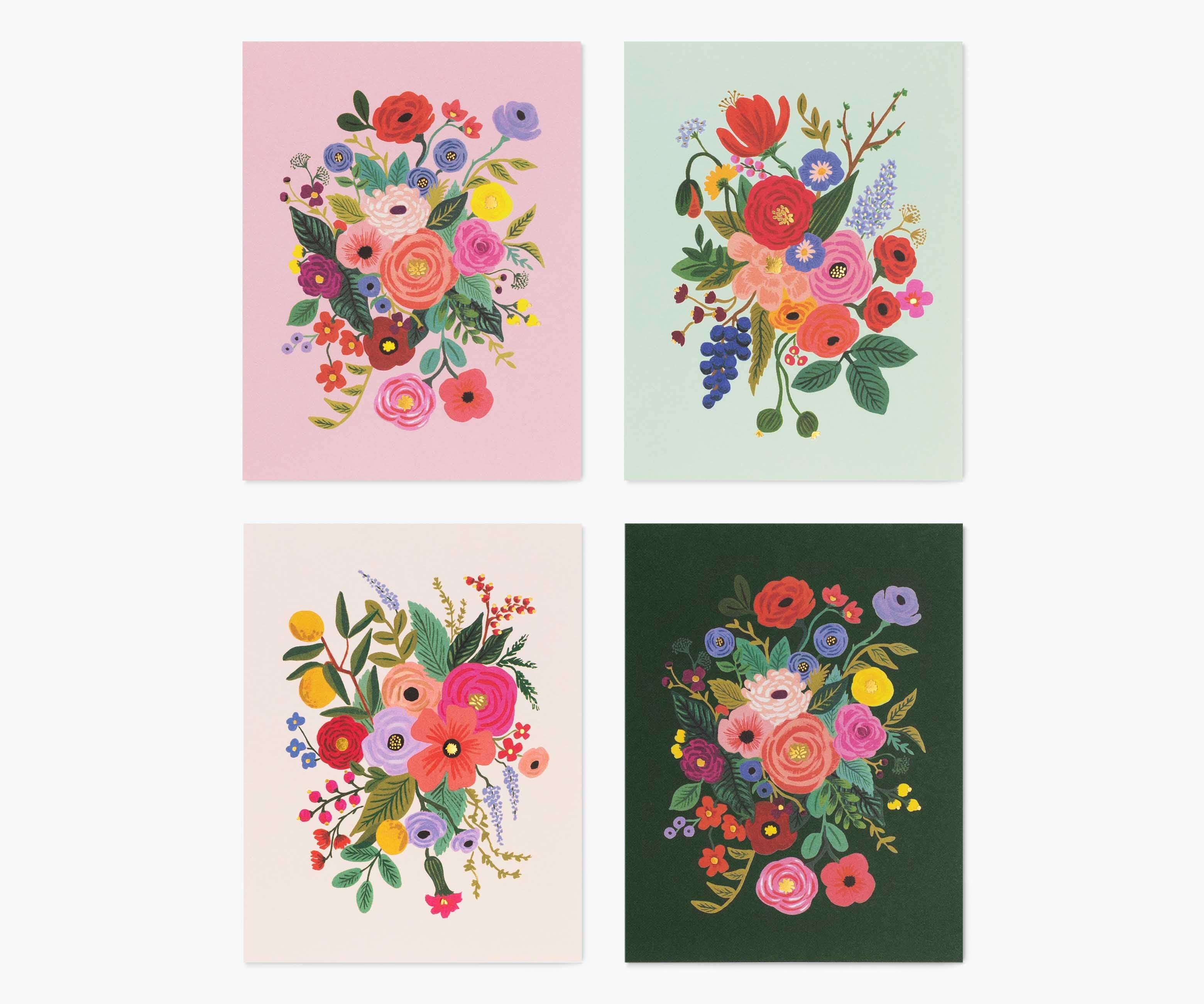 Assorted Card Set, Garden Party