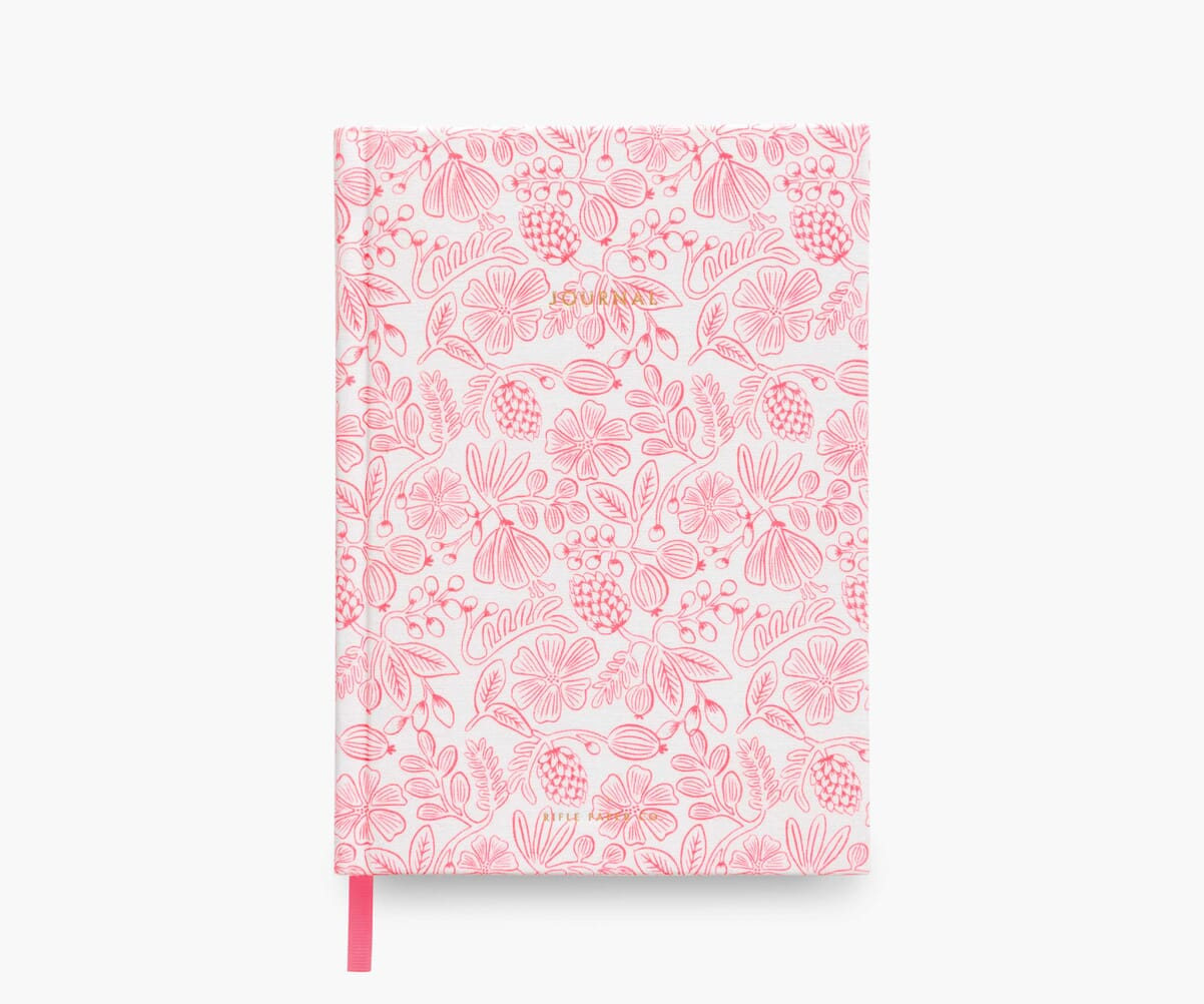 Fabric Journal, Moxie Floral