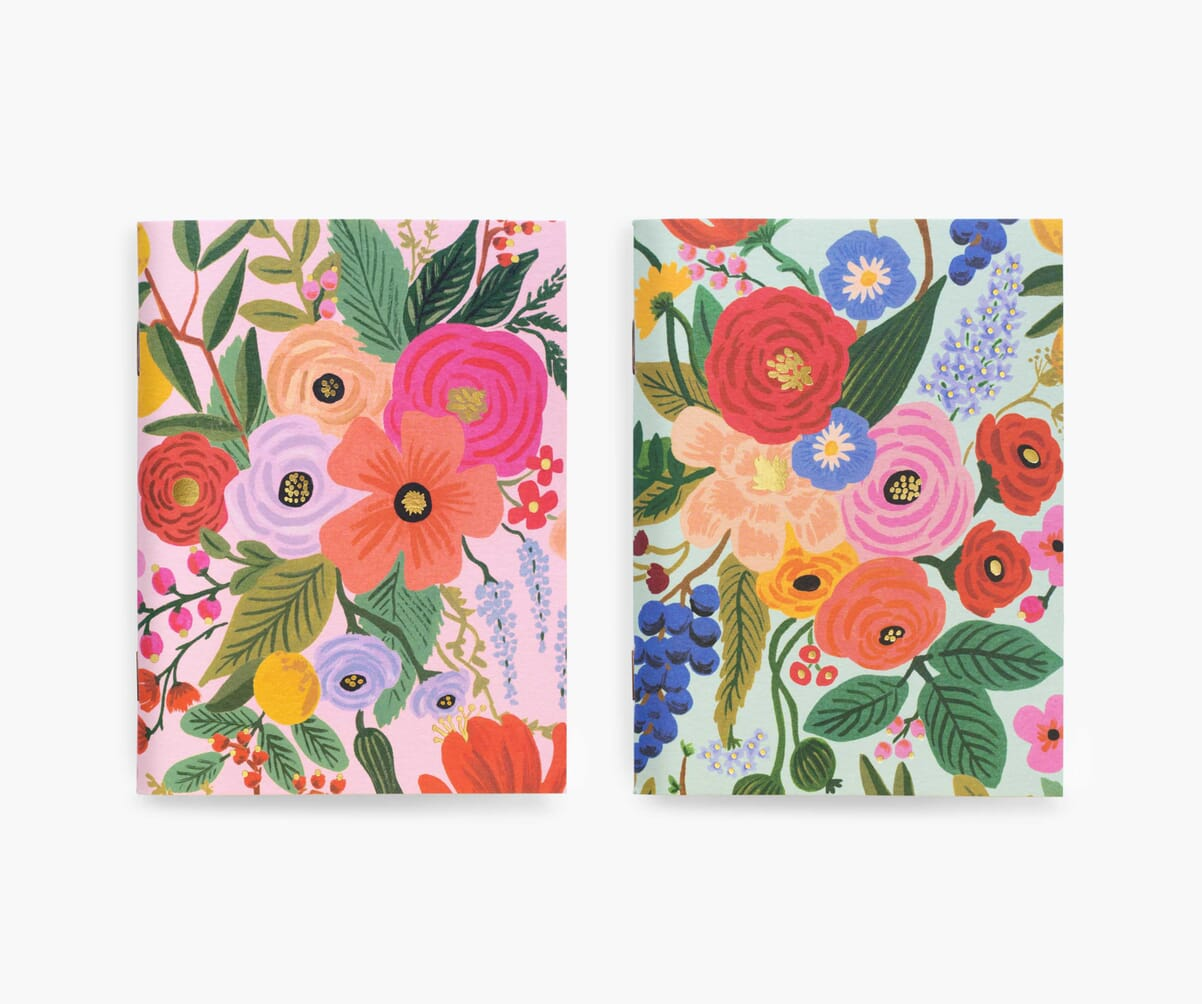 Pocket Notebook Set, Garden Party