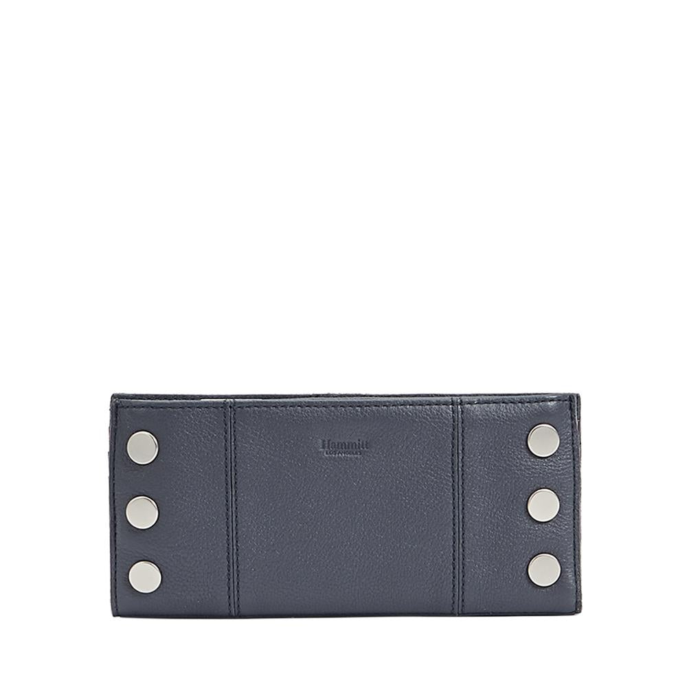 110 North Wallet - Stone / Brushed Silver