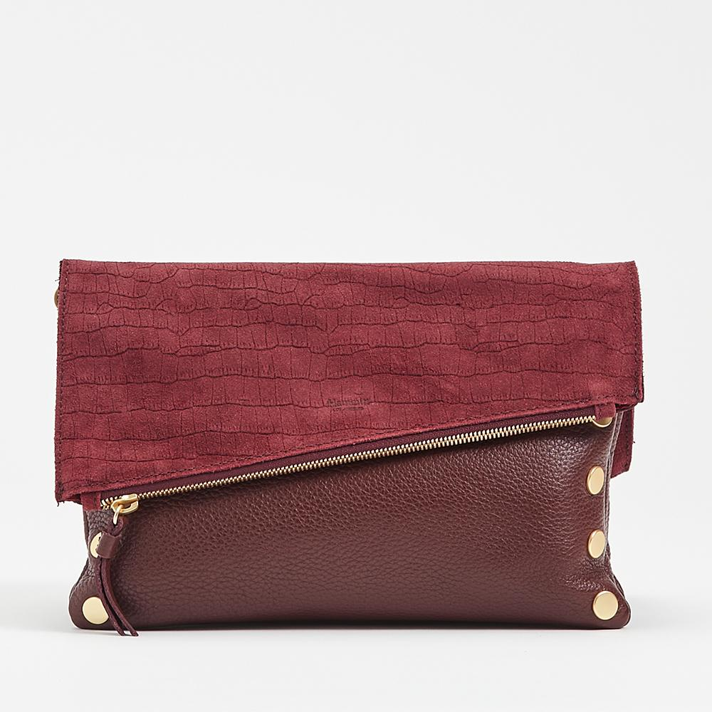 Dillon, Medium - Plum / Brushed Gold