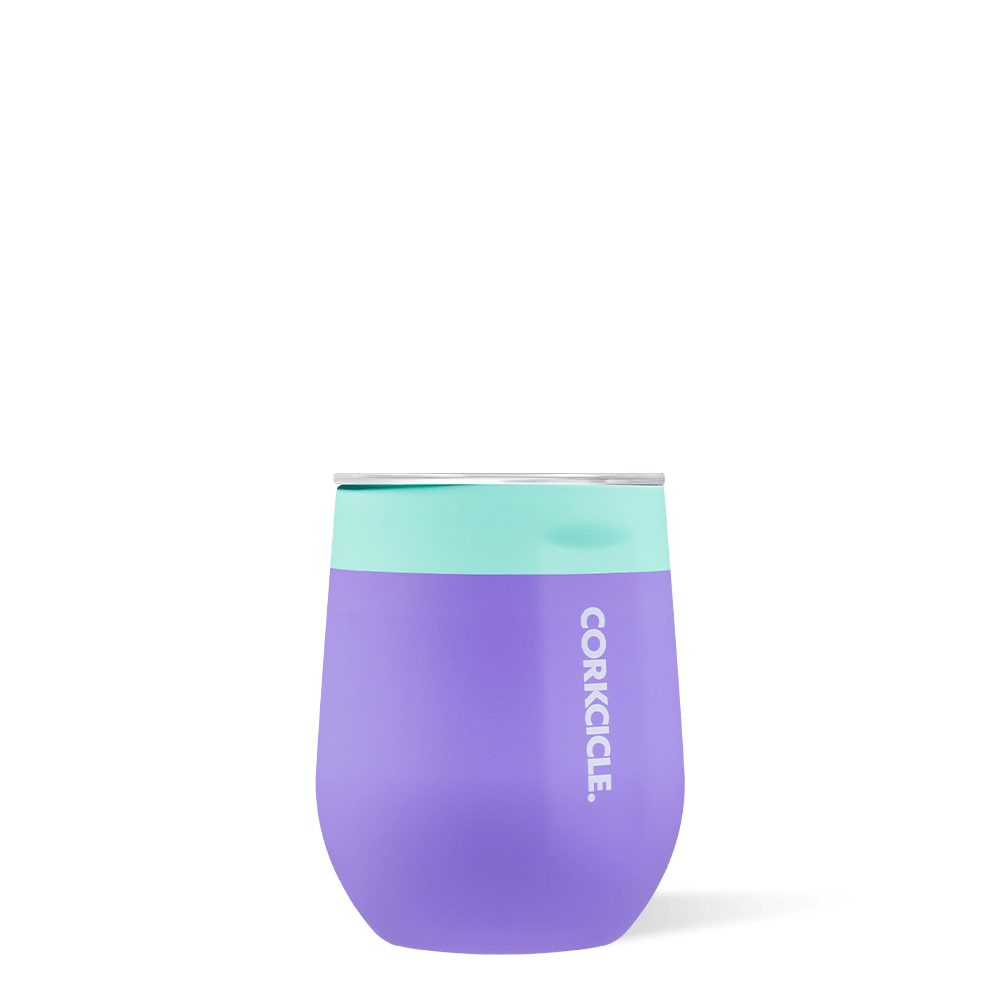 Stemless - Color Block, Mint Berry