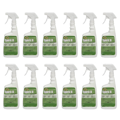 Zep Spirit II Disinfectant Case - 32 oz spray (box of 12) *FOR PICK-UP ON OAHU ONLY*