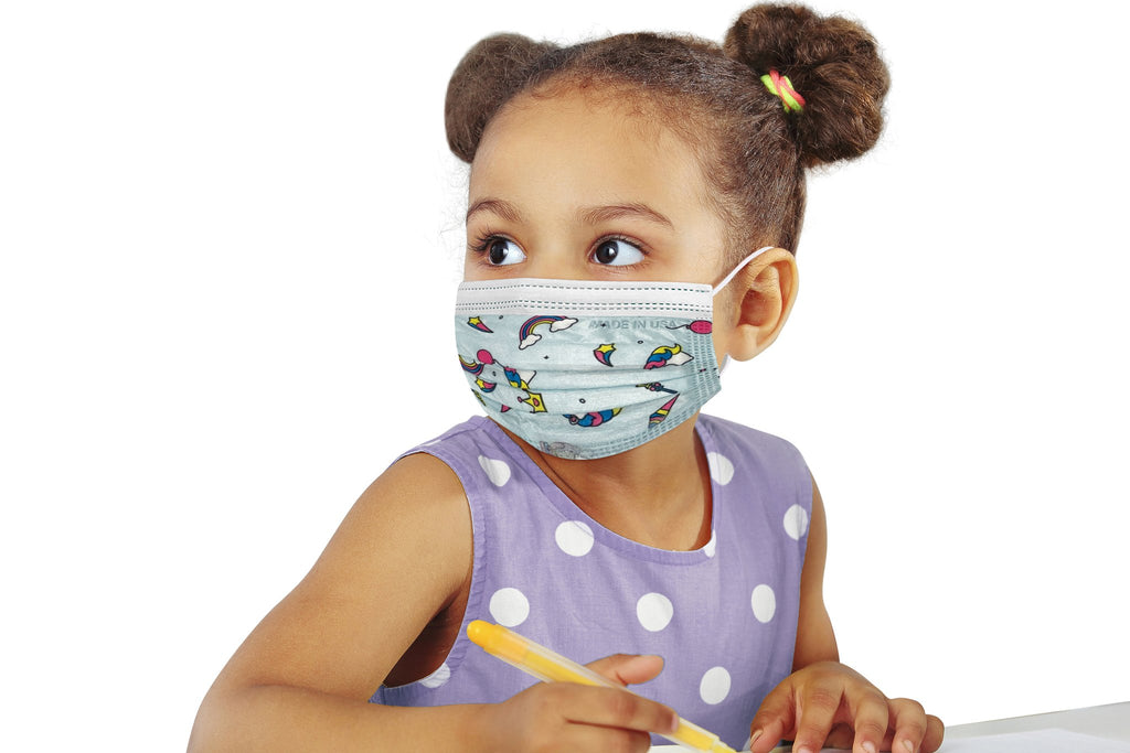 3-Ply Disposable Face Mask – Child (Choose Between Boy or Girl)