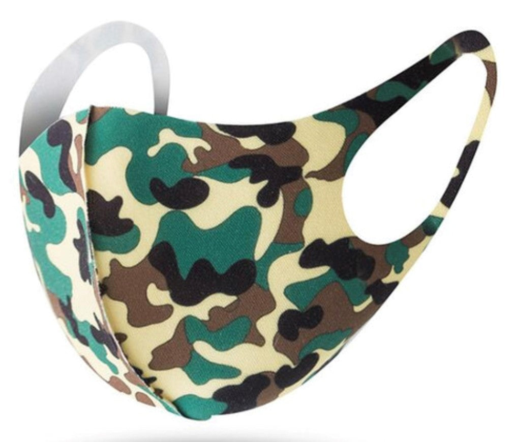 Fashion Mask - Camouflage - Different Colors!