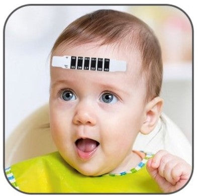 Forehead Thermometer Sticker - Pack of 10