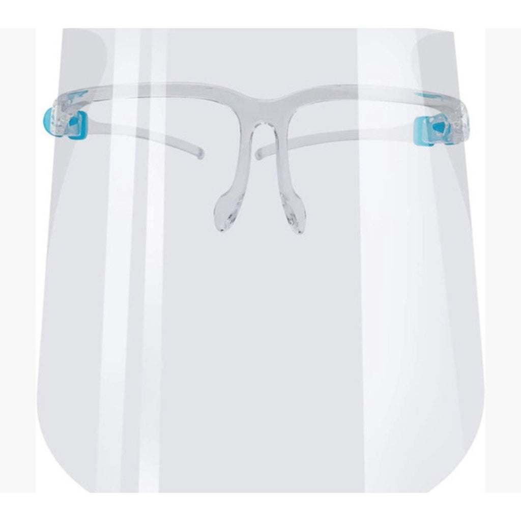 Face Shield - Eye Glass Frame Style