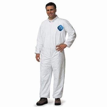 Tyvek Zip Coverall - No Hood - No Boot