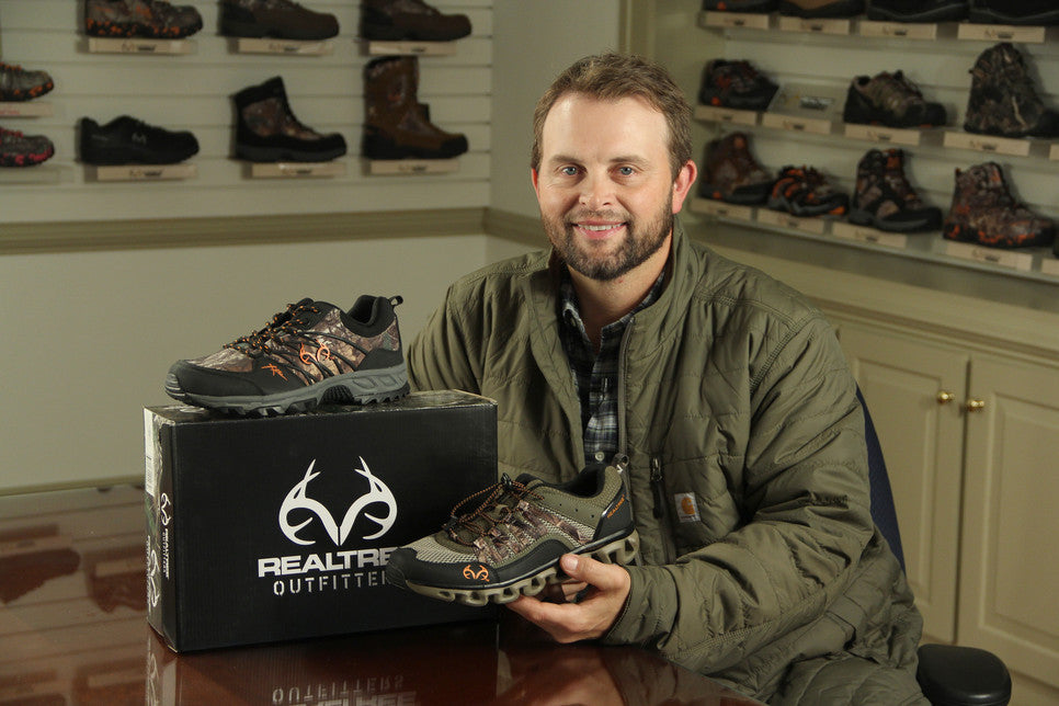 We welcome Michael Waddell, The Bone Collector, to the Old Dominion Footwear-Realtree family.