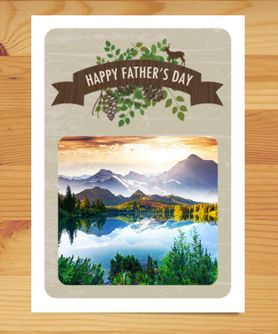 Plant-a-Tree Card for Father's Day