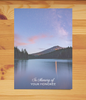 Starry Lake Sympathy Card