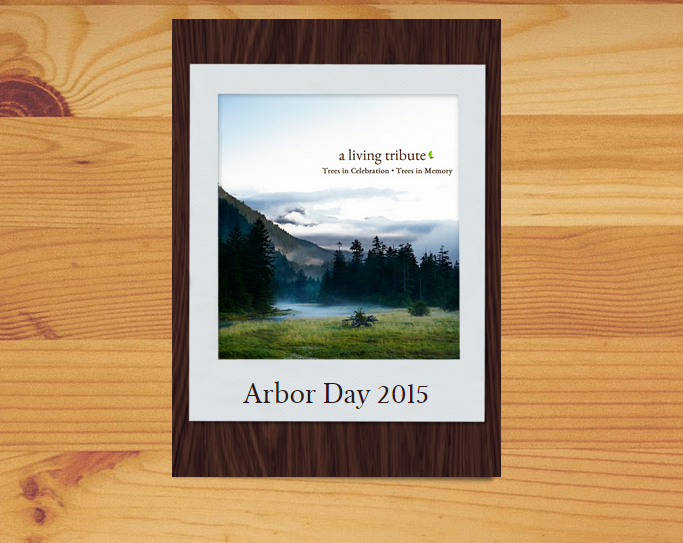 Plant a Tree for Arbor Day - A Living Tribute