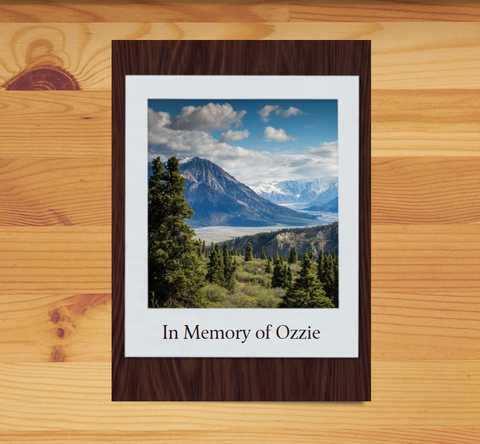Pet Loss Memorial Tree Gift - Plant a Tree in Memory in a National Forest & Send a Personalized Card