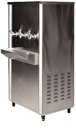 Cold Stainless Steel Drinking Water Cooler Model DWC45-3 By Dana Water Coolers