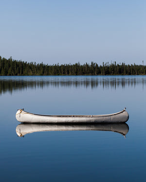 Open image in slideshow, Canoe At Rest, Ice Chest Lake, 2016